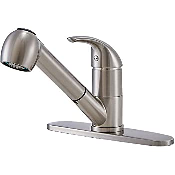 Peerless P110LF Classic Single Handle Kitchen Faucet Chrome