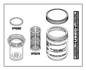 Solids Collector Replacement Kit VPK072 by Replacement Parts Industries RPI (Image #1)
