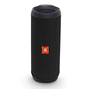 JBL Flip 4 Waterproof Portable Bluetooth Speaker – Black