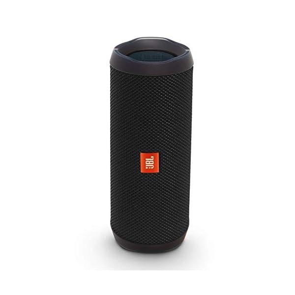 JBL Flip 4 - enceinte Bluetooth Portable Robuste - Étanche Ipx7 pour Piscine & Plage - Autonomie 12 Hrs - Qualité Audio JBL - Noir 1