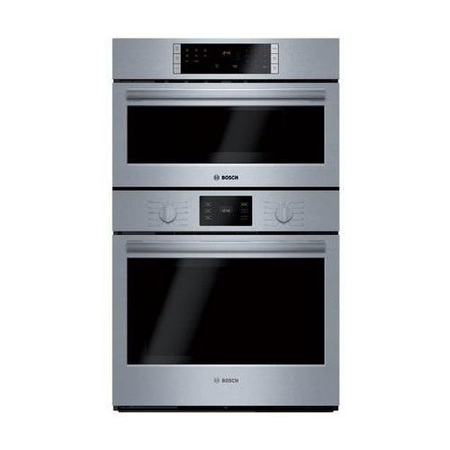 : Bosch S500 Combination 4.6 CF Oven / Microwave, Knob Control (HBL57M52UC)
