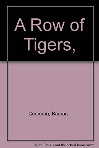 book cover of A Row of Tigers