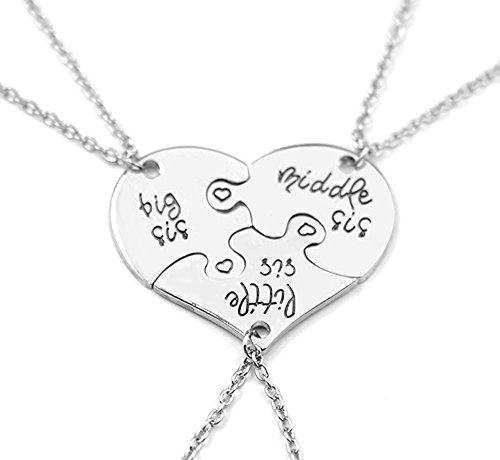 little-middle-big-sister-heart-puzzle-pendant-necklace-set3pcs