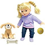 "Uneeda ""Two of Us"" Series with 14"" Baby Doll Interactive with Dog"