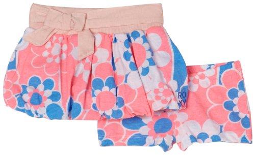 Roxy Little Girls' Roxy Teenie Wahine Hot Lookin Skirt, Coral, Medium