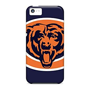Protective Cell-phone Hard Cover For Iphone 5c (zhq6342RorX) Support Personal Customs HD Chicago Bears Image