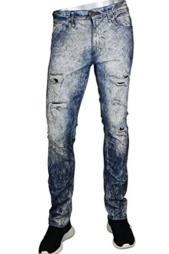 Jordan Craig Men's Denim Jeans Surf Dyed Arctic Oil (32x32) by Jordan Craig