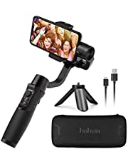 Hohem iSteady Mobile Plus, 3-Axis Handheld Gimbal Stabilizer for Smartphone, Compatiable with iPhone Xs Xr X 8 Plus 7 6, Samsung Galaxy S10, S9, Note 9/8