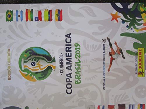 COMPLETE Collection Panini 2019 BRAZIL Copa America 400 Stickers + HARD cover Album
