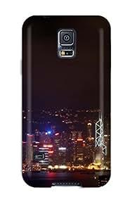 New Tpu Hard Case Premium Galaxy S5 Skin Case Cover(hong Kong Night) 8196693K51273477