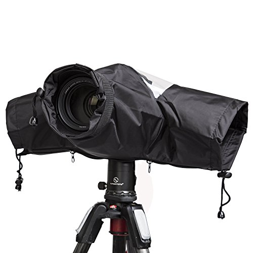 G-raphy Professional Waterproof DSLR Camera Rain Cover for Digital SLR Cameras (Digital Camera Waterproof Cover)