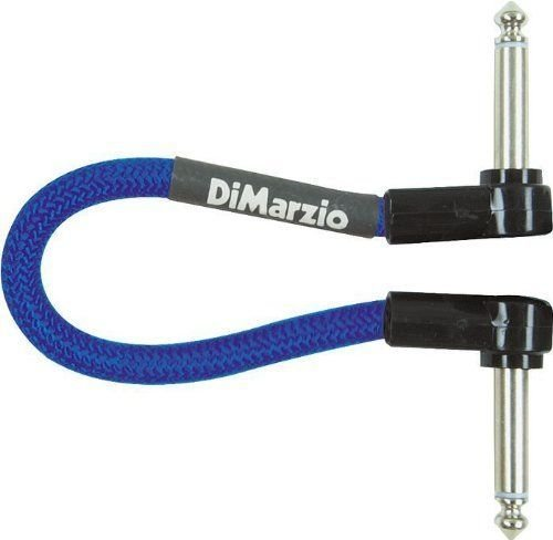(DiMarzio Jumper Cable Pedal Coupler Blue 6 in.)