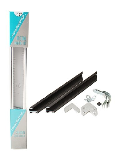 Nielsen Bainbridge Metal Frame Kit black 36 in.