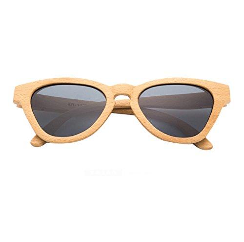 Sol De Madera C5 Polarizadas Gafas HAOYUXIANG De C2 wq5nXEZ4Rx
