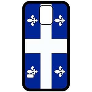 Quebec Flag Black Samsung Galaxy S5 Cell Phone Case - Cover