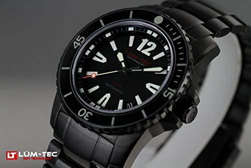 Lum-Tec LT300M-2 Mens 300M Diver Automatic Watch