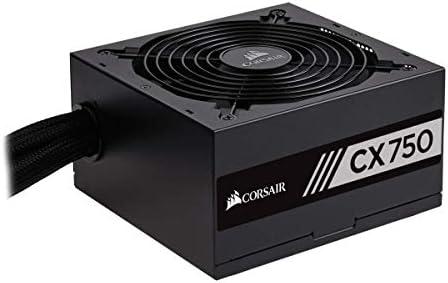 CX Series Modular CX750M 750W 80 Plus Bronze ATX Power Supply CORSAIR Black