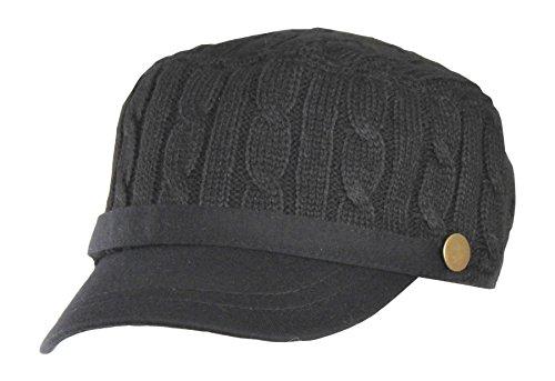 Knit Cadet Cap - 1