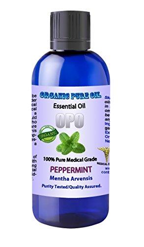 Peppermint Essential Organic Natural Pharmaceutical