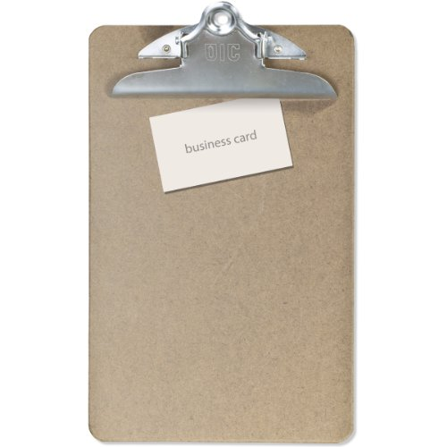 Officemate Recycled, Wood Clipboard, Note Size, 7 x 12 Inch, 6 inch Clip (83102)