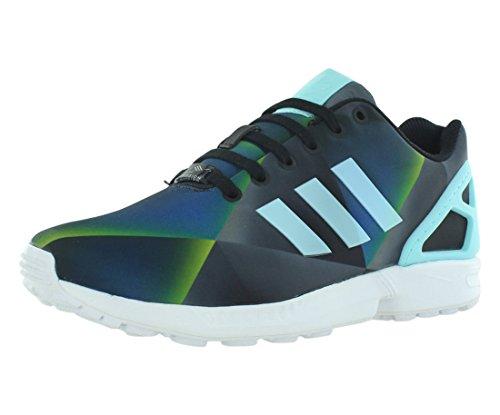 Adidas ZX Flux Men's Shoes White/Clear Aqua/Black b34516  US