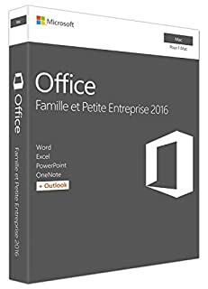 Microsoft Office Home and Business 2016 for Mac | Mac Key Card (French) (B00GLOMX7C) | Amazon Products