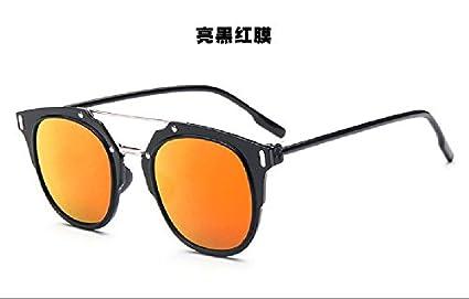 3073e67040 Sunyan Gafas Anteojos Estrella Marea Hembra Nueva Ronda Color Gafas de Sol  Mujer Cara Redonda Ojos