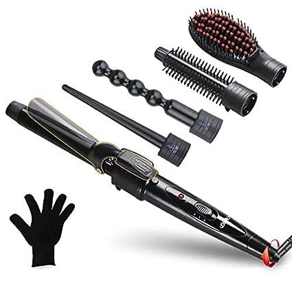 SHS – Rizador de pelo 5 en 1 Curler pelo rizos Curly Hair Curling iron revestimiento