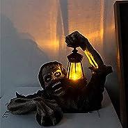 Terror Halloween Decor, Zombie Portable Lantern Halloween Props, Terror Zombie Statue Resin, Personalized Hall