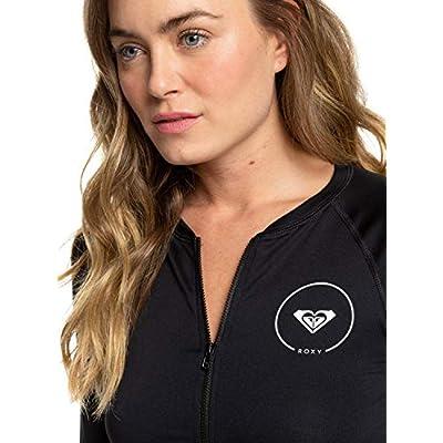 Roxy Women's Essentials Zip-up Rashguard: Clothing