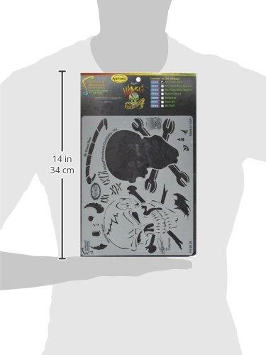 Wrath Of Skullmaster Set Artool Freehand Airbrush Templates