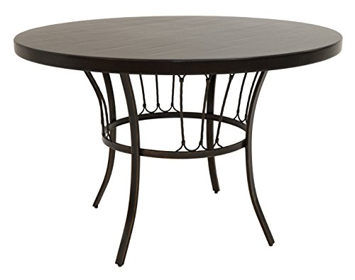 Russet Wood Cordovan - Impacterra Victoria Round Dining Table, Russet Cordovan