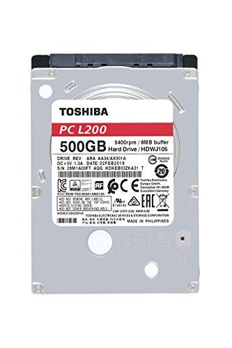 """L200 500 GB 2.5"""" Internal Hard Drive"""