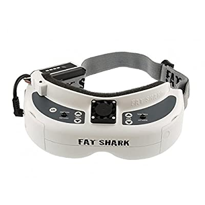 Fatshark Fat Shark Dominator HD V2 FPV Goggles Video Glasses Headset Built in DVR