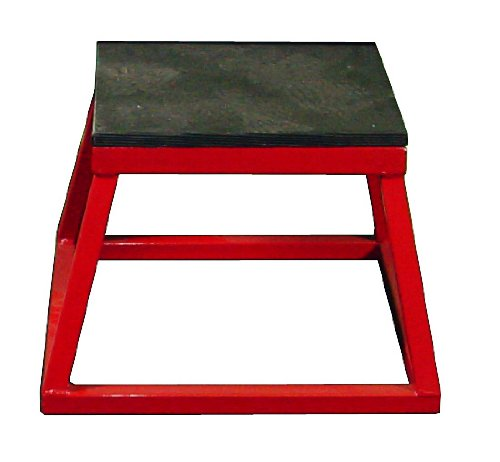 Ader Red Plyometric Platform Box (12'' Red)