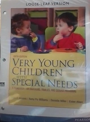 Very Young Children with Special Needs: A Foundation for Educators, Families, and Service Providers by Vikki F. Howard (2013-07-01)