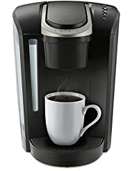 Keurig K-Select Single Serve K-Cup Pod Coffee Maker, With Strength Control and Hot Water On Demand, Matte Black