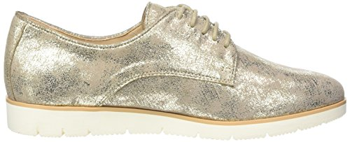 Scarpe Donna Suede Gold Oxford 947 Met Caprice 23608 Oro Stringate 5SwIqZ64xf