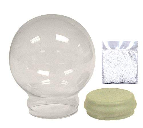 - National Artcraft DIY Water Globe with Seal and Snow is 3-1/16 Inches Round (Pkg/2)