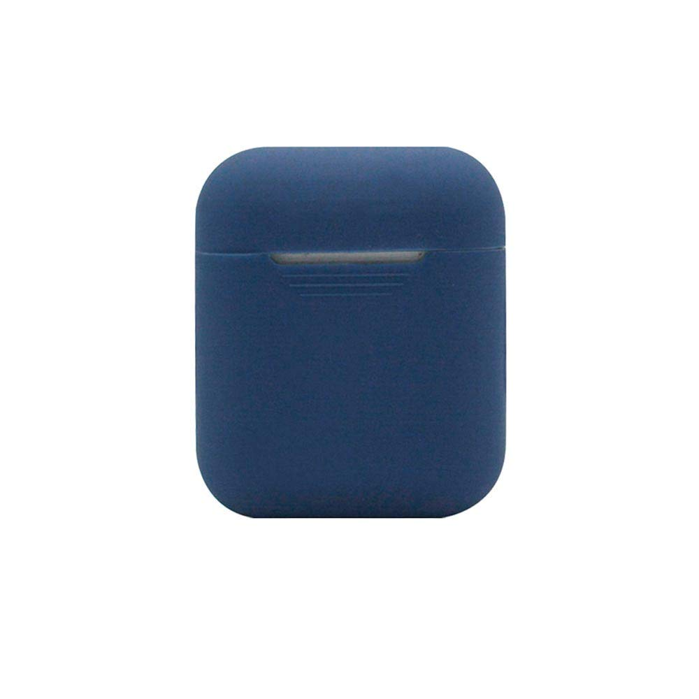Airpods Case, Creazy for AirPods Silicone Case Cover Protective Skin for Apple Airpod Charging Case (e)