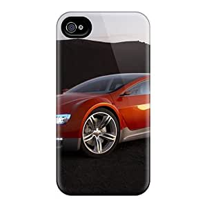 Durable Defender Case For Iphone 4/4s Tpu Cover(dodge Zeo Concept 2008)