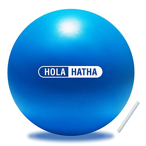 Mini Exercise Ball for yoga, pilates, barre, fitness-Stability ball accessories for strengthening core exercise (Blue, 7.5- inch)