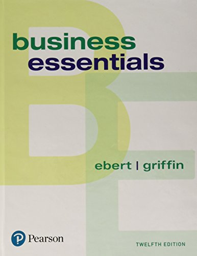 Business Essentials (12th Edition) (Whats New in Intro to Business)