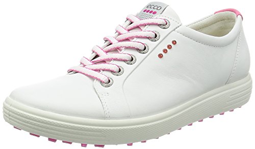 ECCO Women's Casual Hybrid Sport Golf Shoe, White, 36 EU/5-5.5 M US (Ecco Golf 36)