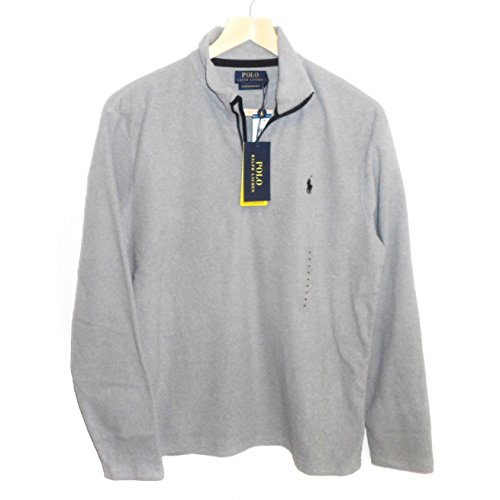 Zip Fleece Mock Neck - 4