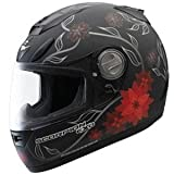 Scorpion Exo-700 Black Dahlia Helmet White Xl/X-Large