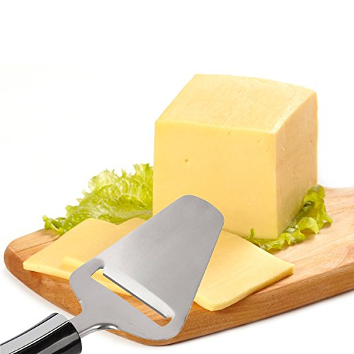 Cheese Slicer Stainless Steel Cutter - Perfect Slices with Once Gesture - Satisfaction Guarantee -...