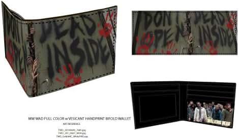 The Walking Dead - Dead Inside Bi-Fold Wallet 4 x 4in