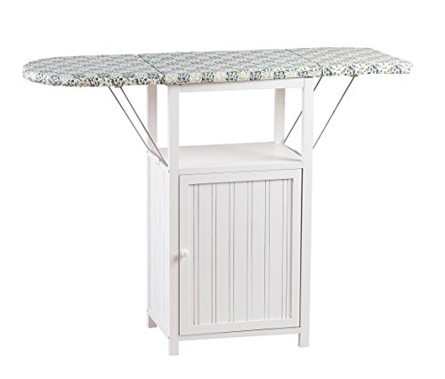 Miles Kimball Deluxe Ironing Board with Storage Cabinet by Oakridge, White by Miles Kimball (Image #5)