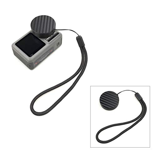 - Flycoo2 Lens Cap for DJI Osmo Action Sport Camera Lens Protective Cover Protector with Lanyard Strap Accessory